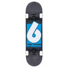 Skate Birdhouse Stage 3 B Logo Black/Blue 8""