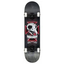 """Skate Birdhouse Stage 3 Skull 2 8.125"""" Noir"""