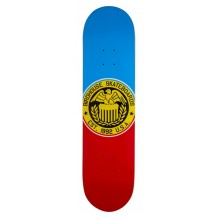 Deck Birdhouse Eagle Logo Blue/Red 8""