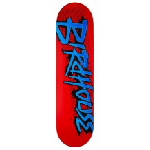 Deck Birdhouse Splatter Logo Red 8.25""