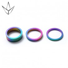 Jeu de 3 spacers Blunt Oil Slick