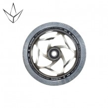 Roue Blunt 120 mm Tri Bearing Chrome/Clear
