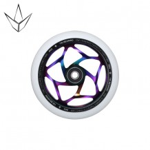 Roue Blunt 120 mm Tri Bearing Oil Slick/White