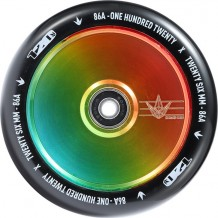 Roue Blunt 120mm Hollow core Rasta