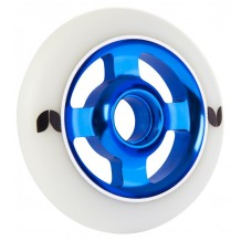 Roue Blazer Stormer 100mm 4 spokes alu white/blue