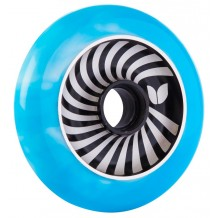 Roue Blazer Pro Vertigo Aluminium Swirl 100mm Blue/White