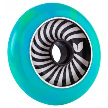 Roue Blazer Pro Vertigo Aluminium Swirl 100mm Green/Blue