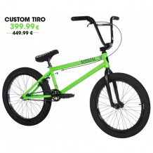 "BMX Subrosa 20,5"" Tiro Custom Neon Green/Black"