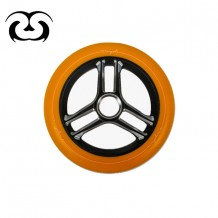 Roue Bunker Tryder 125mm Black/Orange