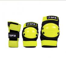 Pack de protections SFR jaune pour enfant