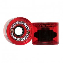 Roues Cloud Ride Cruiser 69mm Rouge