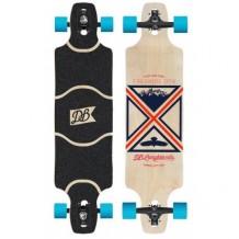 """Longboard DB Longboards Freeride DTX 38"""" Black/Red/Blue"""