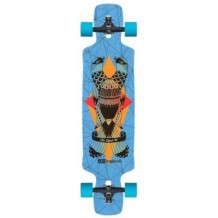 "Longboard DB Longboards 38"" DYAD V2 Blue"