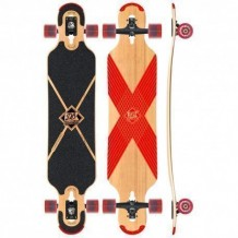 Longboard DB Longboards Compound 42 Red
