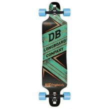 "Longboard DB Longboards Freeride DT 41"" Green"
