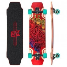 DB Longboards Lunch Tray 36 Cartoon Rouge