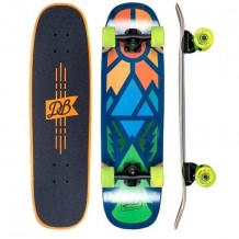 DB Longboards Mini Cruiser Timber 29""