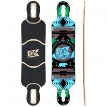 "Deck DB Urban Native 38"" Bleu"