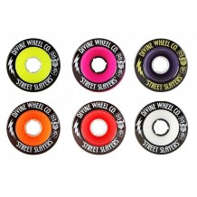 "Set de roues Divine Street Slayers ""Thunder"" 72mm"