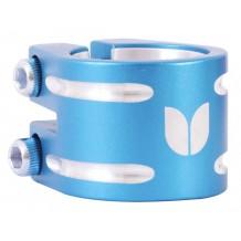 Double collier de serrage Blazer bleu