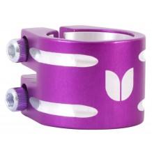 Double collier de serrage Blazer violet