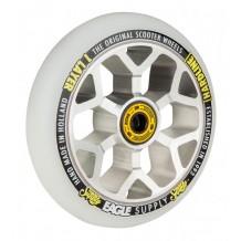 Roue Eagle Snowballs 6M 110mm Argent/Blanc