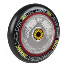Roue Eagle Panthers Hollow tech 115mm Argent/Noir