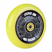 Roue Eagle Radix Full Hlw tech Med Black/Yellow 115 mm