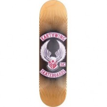 "Deck Earthwing 32"" Street Deck 8.25"" Black/Red/Wood"