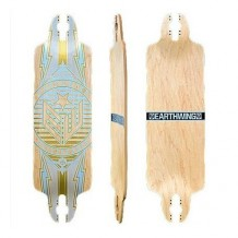 "Deck Earthwing 35"" Scavenger Drop Through 9.75'' Chrome"