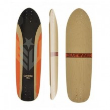 "Deck Earthwing Big Hoopty 36.75"" Noir/orange"