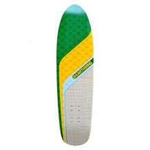 "Deck Earthwing Chaser 32 8.25"" White/Yellow/Green"