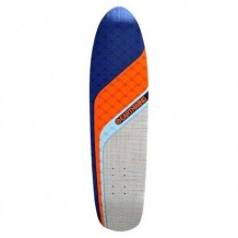 "Deck Earthwing Chaser 36 9.25"" White/Orange/Blue"