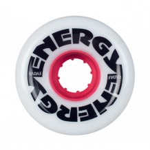 Roues Radar Energy 62mm 78a Blanches