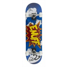 "Skate Enuff POW 7.75""x31"" Blue/White"