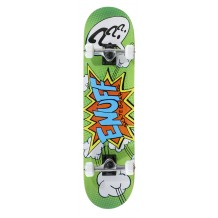 "Skate Enuff POW 7.25""x29.5"" Green/White"