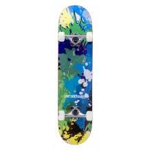 "Skate Enuff Splat 7.75""x31"" Green/Blue"
