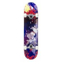 "Skate Enuff Splat 7.75""x31"" Red/Blue"