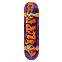 "Skate Enuff Graffiti II 7.25""x29.5"" Purple/Orange"