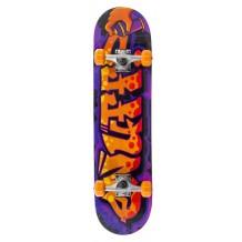 "Skate Enuff Graffiti II 7.25""x29.5"" Purple/Orange"