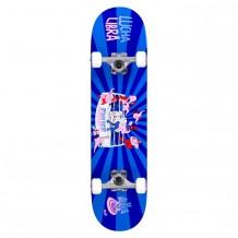 "Skate Enuff Lucha  7.75""x31.5"" Blue/Blue"