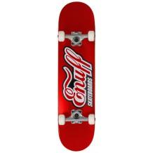"Skate Enuff Logo classique 7.75"" x 31.5"" rouge"