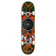"Skate Enuff Dreamcatcher 7.25""x29.5"" Orange/Teal"