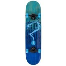 "Skate Enuff Pyro Fade 7.75""x31.5"" Blue"