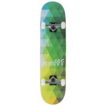 "Skate Enuff Geometric 7.75""x31.5"" Green"