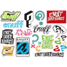 Planche de stickers Enuff Skateboards