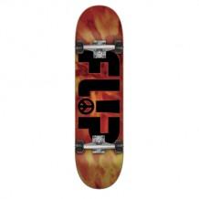 "Skate Flip Peace Rouge 8.25"""