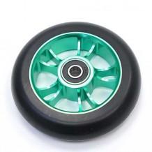 Roue Blunt 100mm 10 spokes noir verte