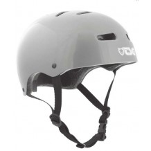Casque TSG skate bmx Injected Colors gris