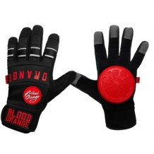 Gants de Slide Blood orange Knuckle black
